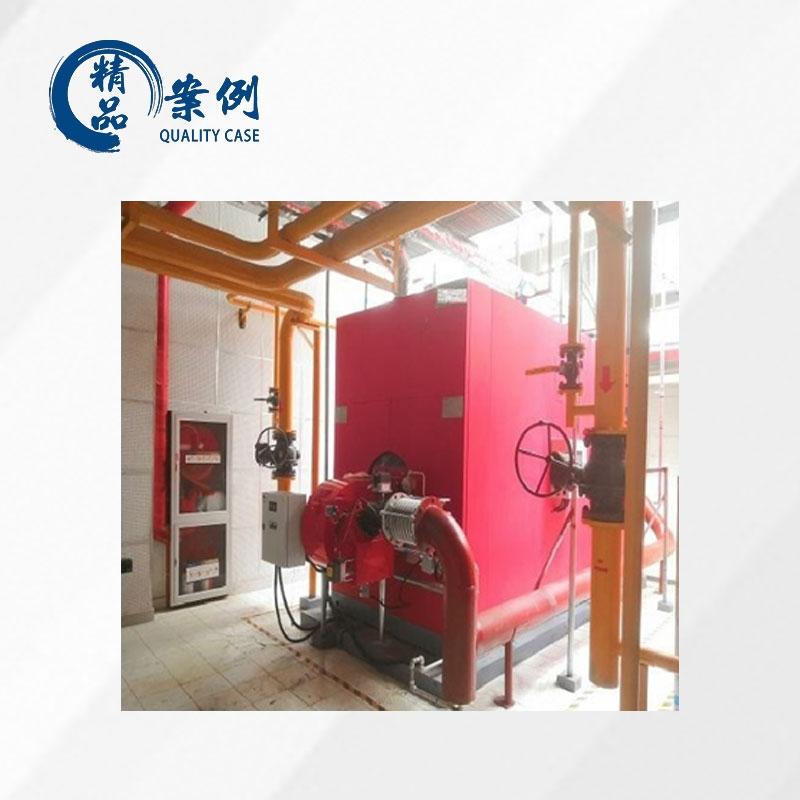燃气热水锅炉+FBR低氮燃烧机/直喷-30mg